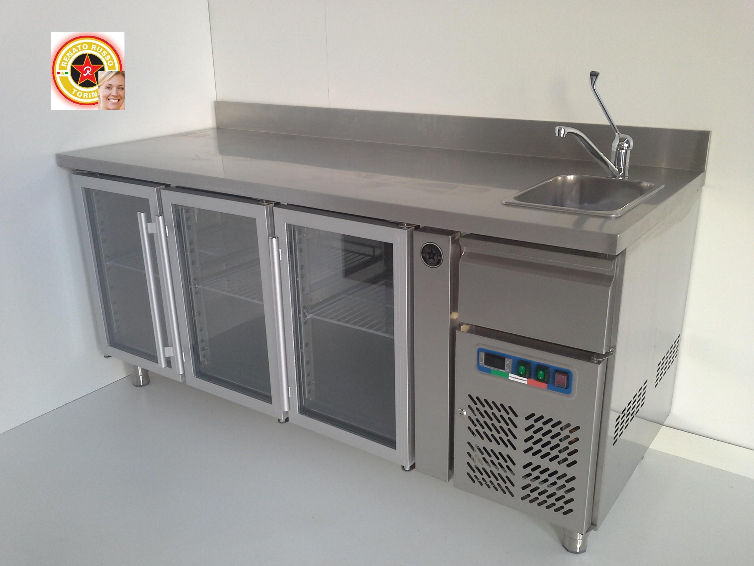 Banchi pizza compra in fabbrica tavoli refrigerati for Banconi bar milano